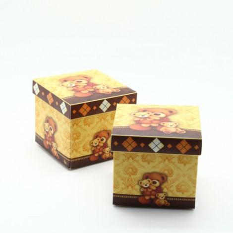 買到賺到 婚禮小物專賣店首推 喜糖盒 DIY精緻歐風熊熊禮物包裝盒