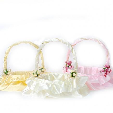 婚禮喜糖籃  真愛蕾絲喜糖籃-小