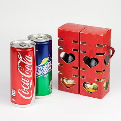 結婚禮品推薦 送客禮 幸福雙囍紙盒