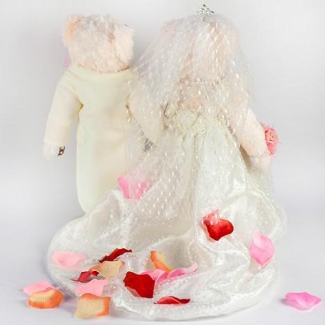 婚禮顧問推薦 浪漫人造玫瑰花瓣