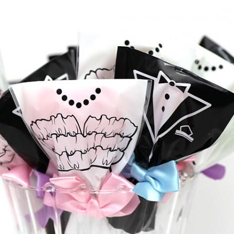 婚禮小物專賣 送客喜糖 新郎新娘棒棒糖