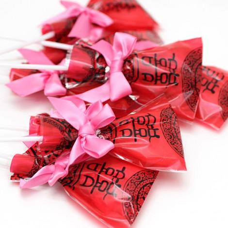 二進小禮物 送客喜糖 中國風 新郎新娘棒棒糖