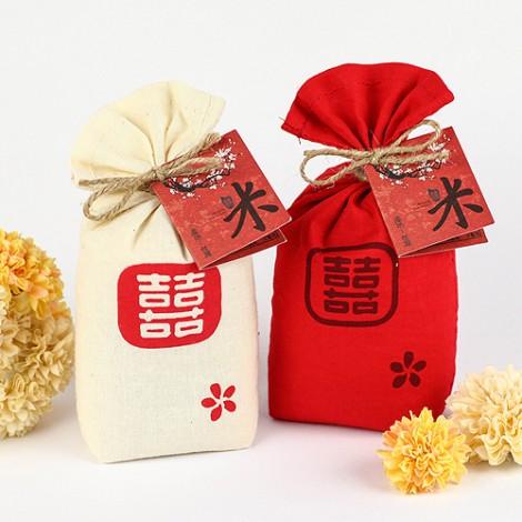 婚禮小物專賣店 袋袋相傳 精緻碾米 喜米系列