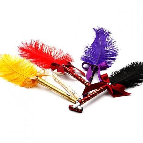 典雅實用羽毛簽名筆 婚禮用品 會場佈置