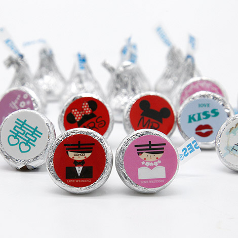 喜糖推薦 KISS巧克力 甜蜜分享 經典婚禮喜糖