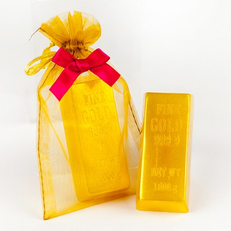 精選婚禮小物 送客禮  黃金條塊 富貴香皂