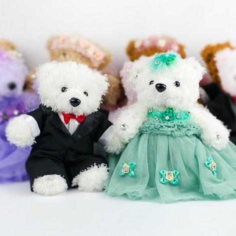 優惠祝福價 結婚禮物推薦 送客禮 璀璨典雅結婚熊