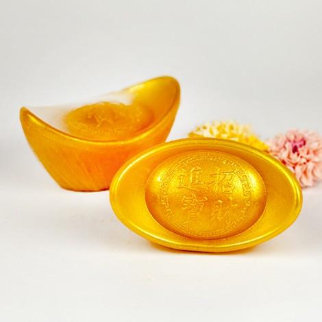 婚禮小物專賣店 送客禮首選 恭喜發財 元寶造型 手工香皂(大)