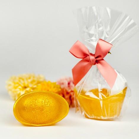 送客禮首選 恭喜發財 元寶造型 手工香皂(小)