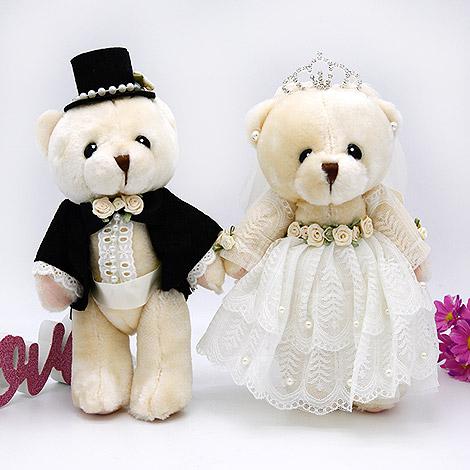 結婚禮物推薦 超萌婚禮熊 婚禮佈置