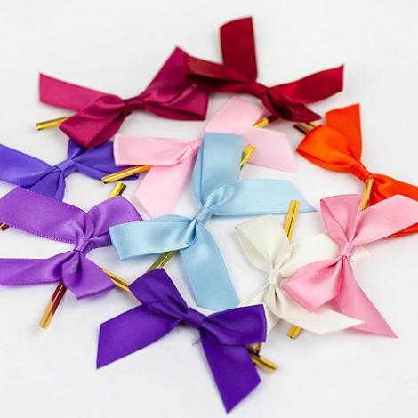 婚禮用品推薦 DIY繽紛鐵絲蝴蝶結 25入