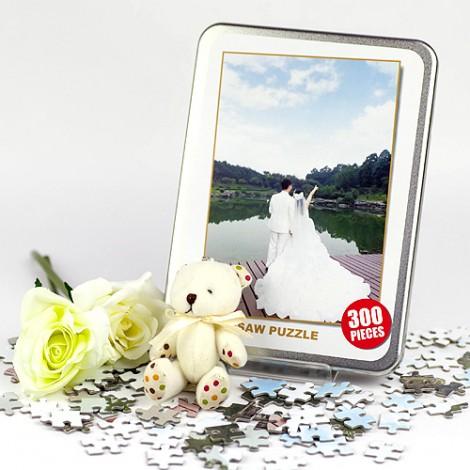 結婚禮物推薦 純愛客製個性拼圖 300片