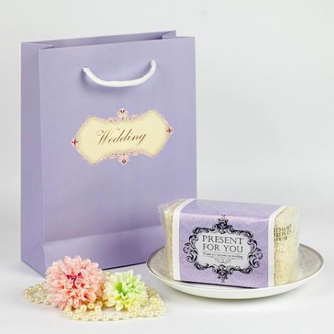 婚禮小物專賣店獨售 典雅紫浪漫 幸福喜米 婚禮喜米組合