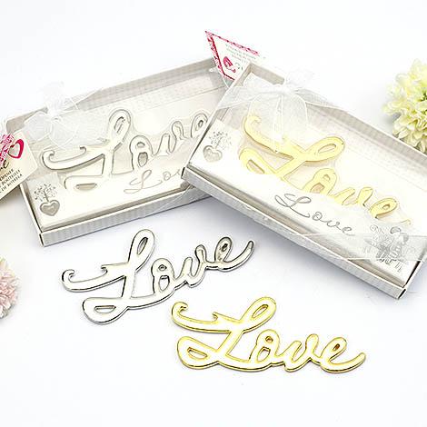 婚禮小物首選 創意禮物 LOVE愛相隨開瓶器