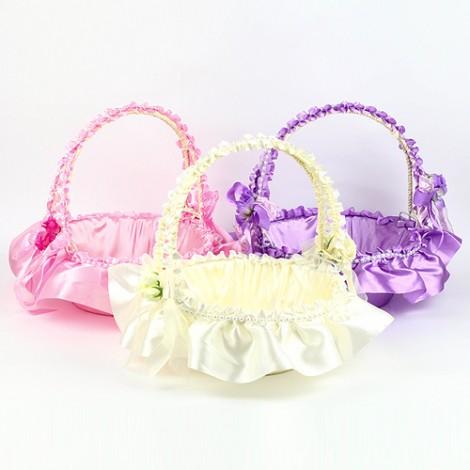 婚禮用品推薦 浪漫送客喜糖籃 喜糖盤(小)