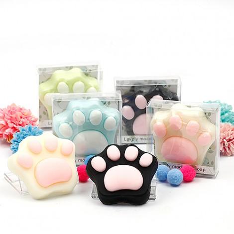 可愛婚禮熊掌 手工香皂 (盒裝) 熊愛你