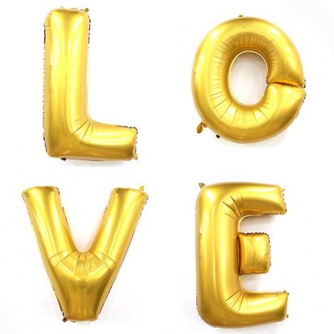 拍婚紗道具 超大LOVE造型婚禮氣球