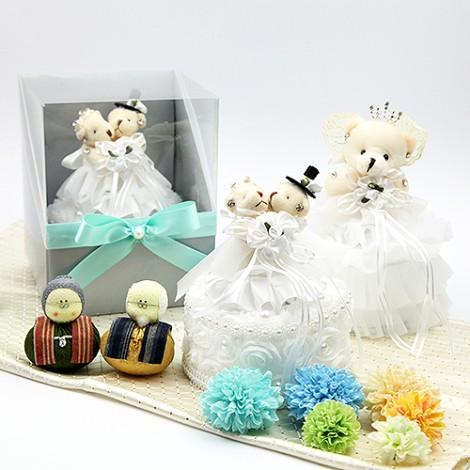 求婚告白  柔美浪漫小熊戒盒 婚禮佈置 結婚對戒