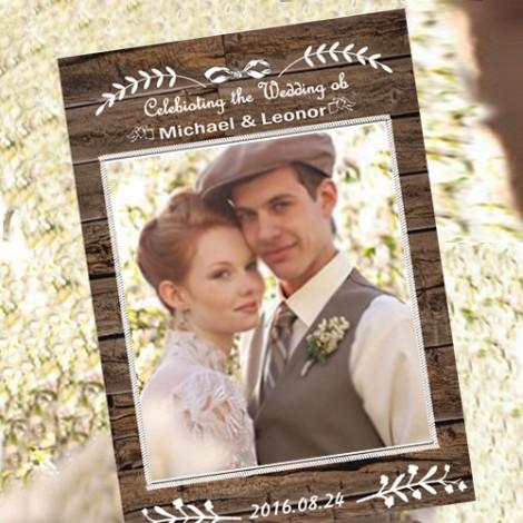 拍婚紗道具必備 自然大地拍照框 結婚拍照豐富組合