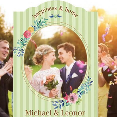 拍婚紗道具必備 小確幸拍照框 結婚拍照豐富組合