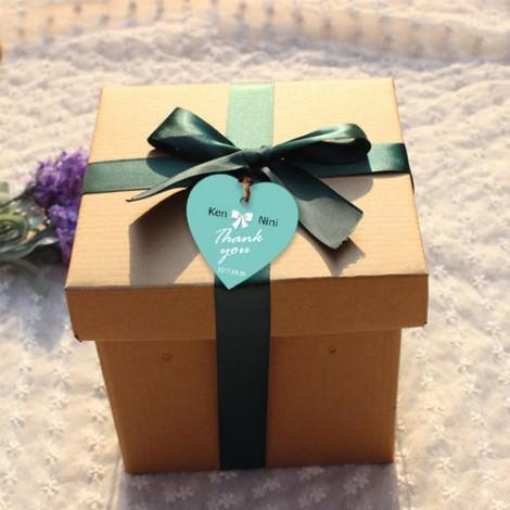客製化禮品 愛心蝴蝶款 婚禮小物DIY材料