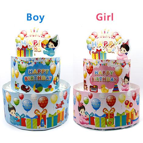 彌月好禮推薦 可愛寶貝尿布蛋糕組 超夯的彌月禮物