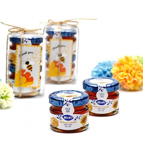 結婚 喜糖 甲甜甜蜂蜜 二入蜂蜜果醬 幸福甜蜜蜜