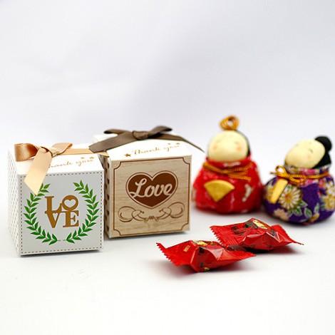 獨家設計 DIY鄉村風喜糖盒 送客小禮推薦