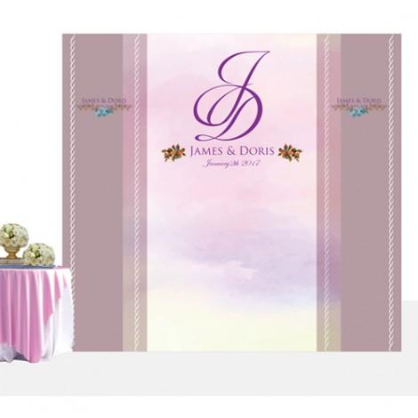 婚禮會場佈置 優雅紫色風