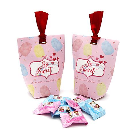 DIY個性時尚喜糖盒 餅乾包裝袋