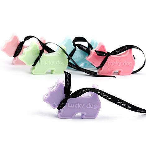 獨家送客小禮物 幸運狗手工香皂 緞帶可以客製