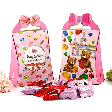 獨家設計 DIY甜蜜萌趣喜糖盒 小禮物包裝盒