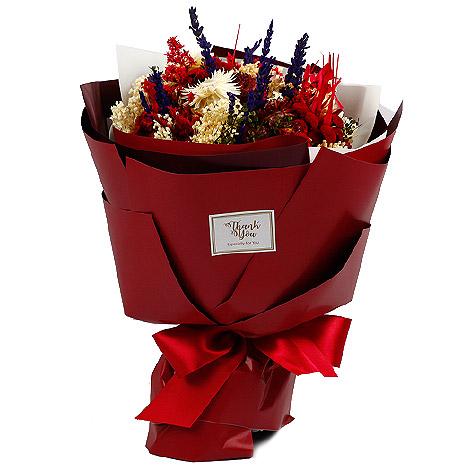 婚禮用品 婚禮乾燥花花束 販售中