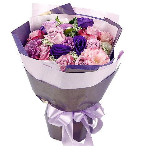 婚禮習俗 感謝玫瑰花束 婚禮謝親恩