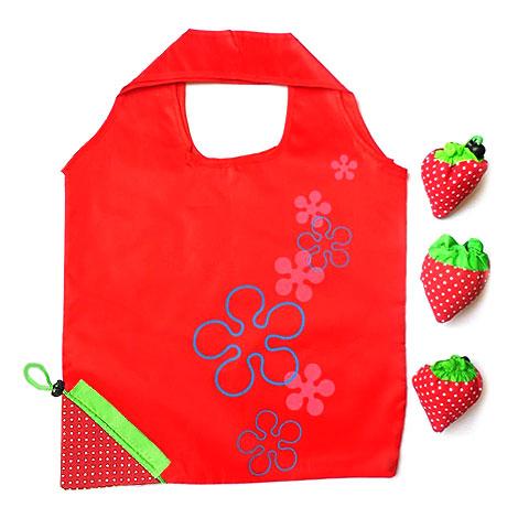 婚宴迎賓禮 草莓環保袋 送客小禮物