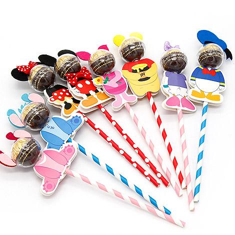 婚禮創意喜糖 可愛卡通造型人氣糖果棒