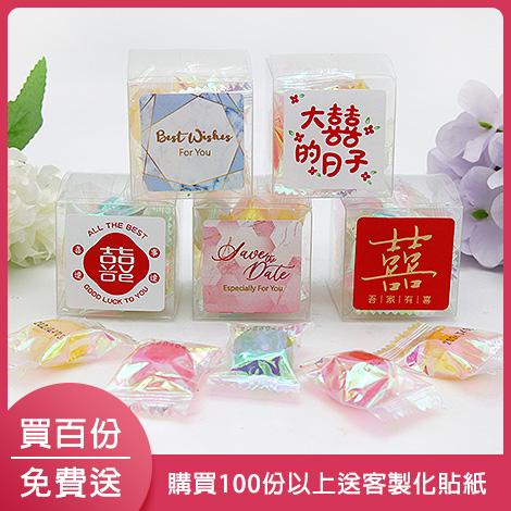 甜心兔造型糖果棒 創意婚禮喜糖