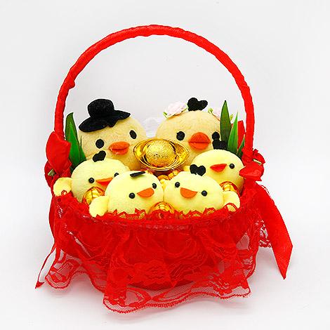 婚禮習俗 帶路雞 幸福好起家 婚禮用品 (小)