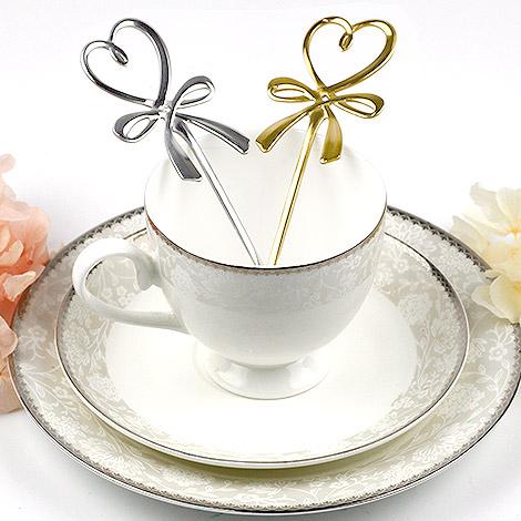 日本婚禮小物 蝴蝶精緻愛心攪拌湯匙 結婚禮物首選