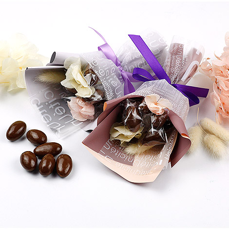 獨家婚禮花束 巧克力迷你喜糖捧花 伴娘喜糖