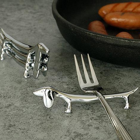 逗趣臘腸狗筷架 特別禮物