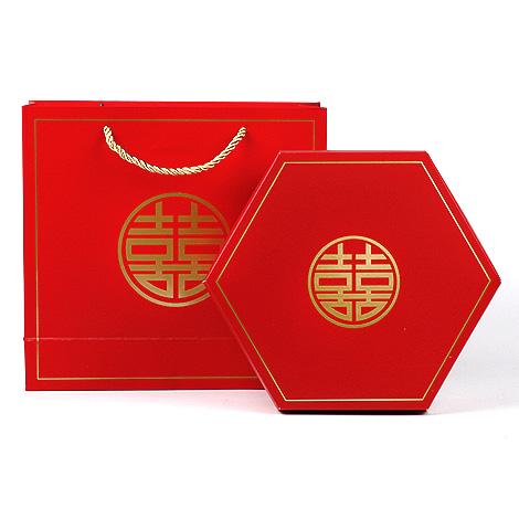 禮物盒子 六角禮物盒 婚禮小物 DIY 禮物包裝