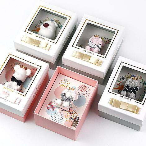 特別的禮物 可愛小熊精油香薰石 精美禮物盒