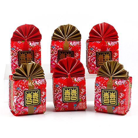 最夯婚禮小物 客家花布喜米 150g喜米送客禮