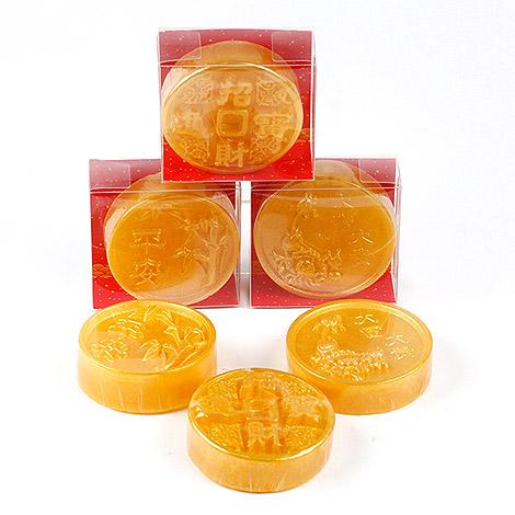 特別送客禮 錢幣招財手工香皂 討喜送客禮