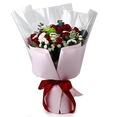 情人節要送什麼 情人紅玫瑰花束 花店代客送花