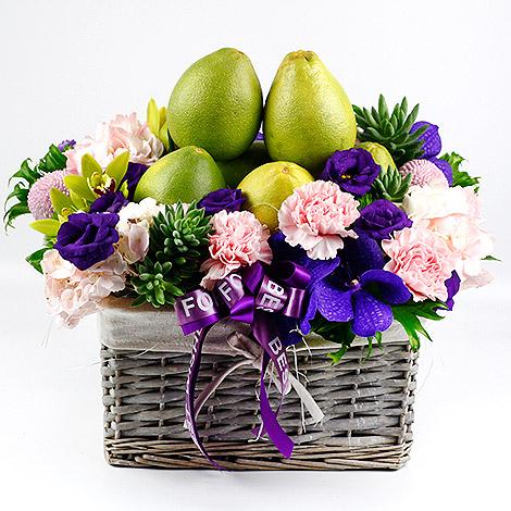 今年中秋節送什麼 香柚水果花禮 網路訂禮推薦
