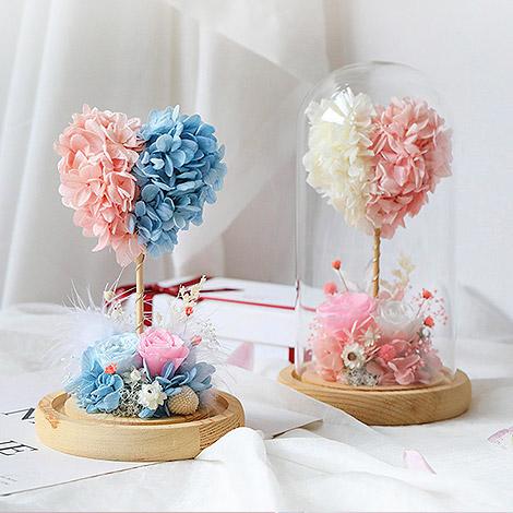 交換禮物送什麼 方形LED木頭鐘