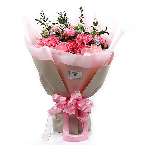 禮物專賣店推薦 精選康乃馨母親節花束