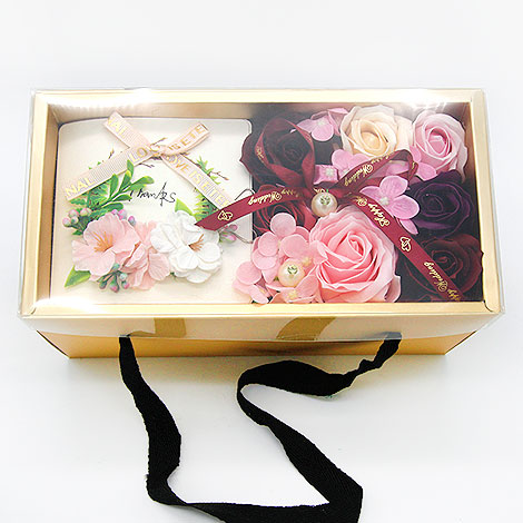 母親節送什麼好 愛您香皂花禮盒